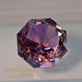Ametyst z Moravy 15x15mm Váha: 10.8ct /VIDEO/