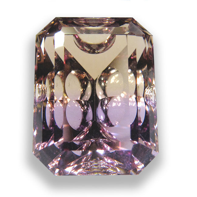 Ametrín z Bolívie 12x15mm Váha: 12.06ct