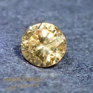 Diamant, briliantový výbrus 3mm Váha: 0,09ct